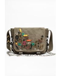 Zadig & Voltaire - Sac Ready-Made XS Canvas - Lyst
