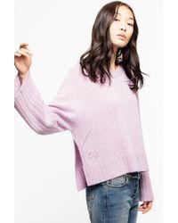 Zadig & Voltaire - Lea Cashmere Sweater - Lyst