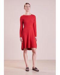 Boss orange red maxi dress
