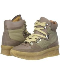 Shellys London - Tristen (beige) Women's Wedge Shoes - Lyst