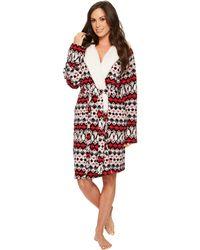 Vera Bradley - Hooded Fleece Robe - Lyst