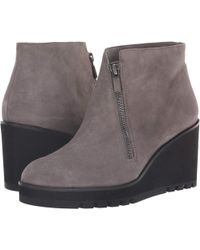 0bb425393a94 Eileen Fisher - Alto (graphite Suede) Women s Boots - Lyst