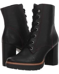 Naturalizer - Callie (black Tumbled Leather) Women's Boots - Lyst