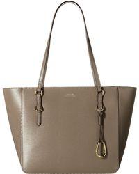 9c718e27904 Lauren by Ralph Lauren - Bennington Shopper Medium (taupe) Handbags - Lyst
