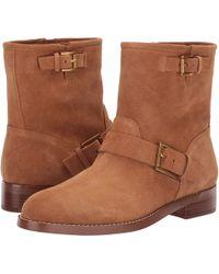 MICHAEL Michael Kors - Reeves Bootie (acorn Sport Suede/unlined) Women's Boots - Lyst