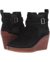 Merrell - Tremblant Wedge Mid ( Stone) Women's Pull-on Boots - Lyst