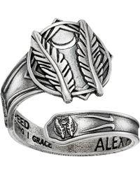 ALEX AND ANI - Spoon Ring Godspeed - Lyst