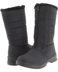 Tundra Boots - Christy (black) Women's Cold Weather Boots - Lyst