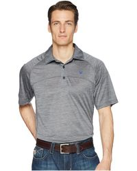 Ariat - Basic Charger Polo - Lyst