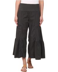 XCVI - Cropped Side Tier Palazzo - Lyst