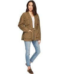 Free People - In Our Nature Jacket (moss) Women's Coat - Lyst