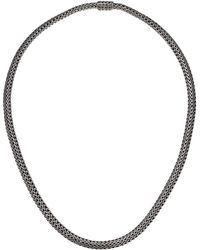 John Hardy - Classic Chain Extra Small Necklace 5 Mm. (silver) Necklace - Lyst