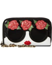 Alice + Olivia - Avril Stace Face Flowers Small Wallet - Lyst