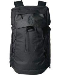 67515c5c93 Nike - Kyrie Backpack (black black black) Backpack Bags - Lyst