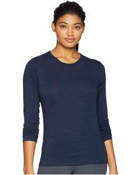 tasc Performance - St. Charles Crew Long Sleeve Tee (galaxy Blue) Women's Long Sleeve Pullover - Lyst