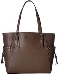 d06d61fc849 MICHAEL Michael Kors - Voyager East west Tote (fawn) Tote Handbags - Lyst