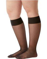 Spanx - Sheer Hi-knee Socks - Two Pack! - Lyst