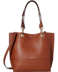 Calvin Klein | Unlined Tote | Lyst