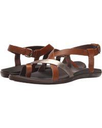 609dd596440ef2 Olukai - Upena (kona Coffee kona Coffee) Women s Sandals - Lyst