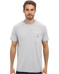Carhartt | Force Cotton S/s T-shirt | Lyst