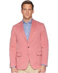 Polo Ralph Lauren - Garment Dyed Cotton Stretch Sportcoat (nantucket Red) Men's Coat - Lyst
