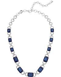 Lauren by Ralph Lauren - 17 Stone Collar Necklace (green) Necklace - Lyst
