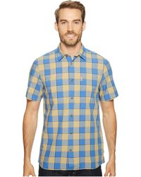 Fjallraven - High Coast Big Check Shirt Short Sleeve - Lyst