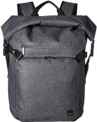 Knomo - Thames Hamilton Roll Top Backpack (grey) Backpack Bags - Lyst