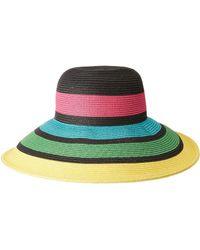 San Diego Hat Company - Ubl6811 Sun Brim W/ Stripes - Lyst