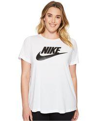 Nike - Sportswear Essential T-shirt (size 1x-3x) - Lyst