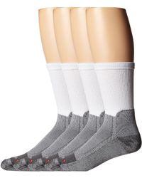 Drymax Sport - Work Boot Crew 3-pair Pack (white/grey) Quarter Length Socks Shoes - Lyst