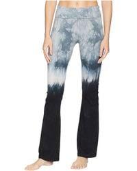Hard Tail - Rolldown Bootleg Flare Pants (diagonal Butterfly 1) Women's Casual Pants - Lyst