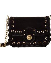 Lauren by Ralph Lauren - Millbrook Chain Crossbody (black) Cross Body Handbags - Lyst
