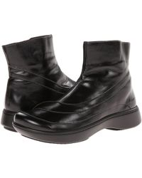 Naot - Tellin (black Madras Leather) Women's Zip Boots - Lyst