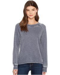 Alternative Apparel - Burnout French Terry Lazy Day Pullover (dark Navy) Women's Clothing - Lyst