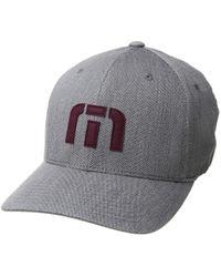 Travis Mathew - Letterman (heather Grey) Baseball Caps - Lyst