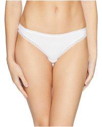 On Gossamer - Cabana Cotton Hip Bikini G1161 - Lyst
