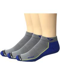 Drymax Sport - Speedgoat Lite Trail Mini Crew 3-pack (blue/anthracite) Low Cut Socks Shoes - Lyst
