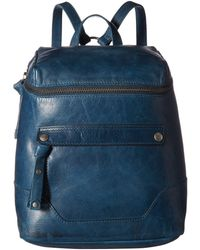 Frye - Melissa Zip Backpack (cognac Antique Pull Up) Backpack Bags - Lyst