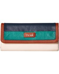 The Sak - Iris Flap Wallet (california Multi) Wallet Handbags - Lyst