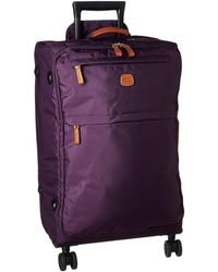 Bric's - X-bag 25 Spinner W/ Frame (violet) Carry On Luggage - Lyst