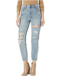 RVCA - Piper Jeans In Vintage Blue (vintage Blue) Women's Jeans - Lyst