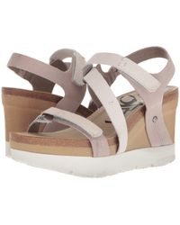 Otbt - Wavey (cacao) Women's Wedge Shoes - Lyst