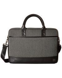 Knomo - Holborn Princeton Laptop Brief (grey) Briefcase Bags - Lyst