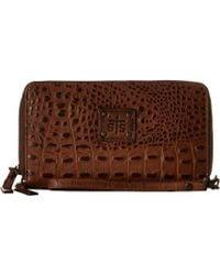 STS Ranchwear - The Kacy Croc Organizer (black Croc) Handbags - Lyst