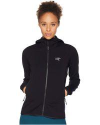 Arc'teryx - Kyanite Hoodie (black Sapphire) Women's Sweatshirt - Lyst