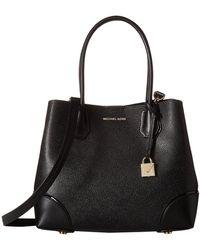 b0e3f267875c MICHAEL Michael Kors - Mercer Gallery Medium Center Zip Tote (soft Pink)  Tote Handbags