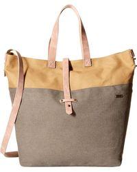 Roxy - Stripey Love Large Tote Bag (turbulence) Cross Body Handbags - Lyst