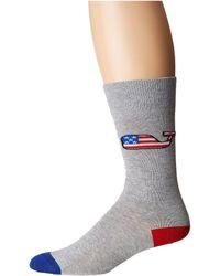 Vineyard Vines - American Flag Wf Icon Socks - Lyst