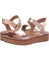 42bd014a1f5 Steve Madden - Aida (rose Gold) Women s Shoes - Lyst